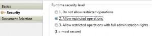 SecurityLevel