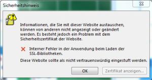 Fehlermeldung beim verbinden von Outlook mit dem Office 365 Konto
